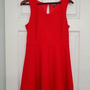 Red EXPRESS cocktail dress